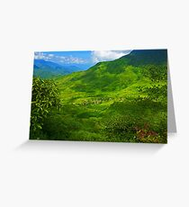 Can Ho, Sapa, Vietnam. Greeting Card