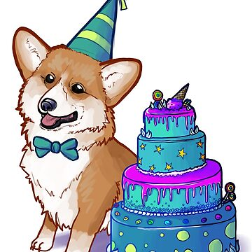 Happy Birthday Corgi! by kalantix