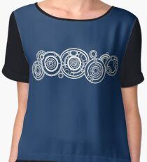 Do You Speak Gallifreyan? Chiffon Top