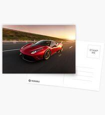 Ferrari 458  Postcards