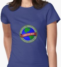 Climate Change Earth Day 2017 Womens Fitted T-Shirt