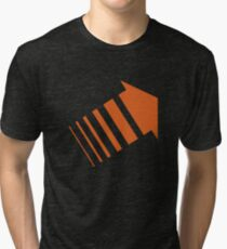 Legion Orange Arrow David Haller Tri-blend T-Shirt