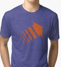 Legion Orange Arrow David Haller Tri-blend T-Shirt