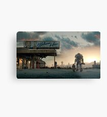 Fallout 4 - Welcome Home Metal Print