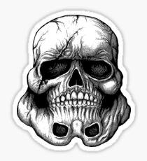 Skull Topper Sticker