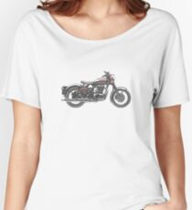 Royal Enfield Motorcycle Women's Relaxed Fit T-Shirt
