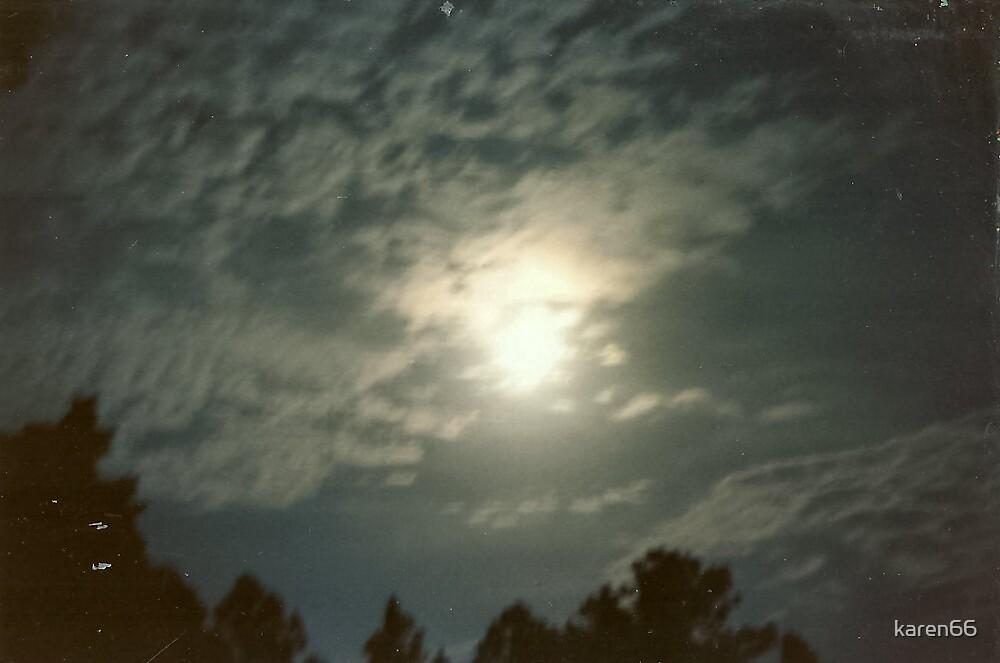 Moon At Night by karen66