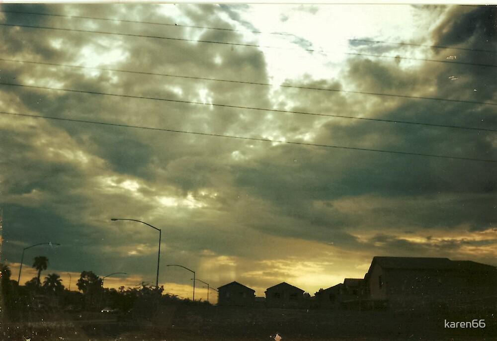Sunrise In Phoenix, Arizona by karen66