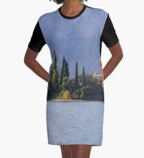 Garda Island Italy Graphic T-Shirt Dress