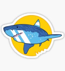 Vector Shark Sticker