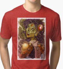 steampunk bride Tri-blend T-Shirt