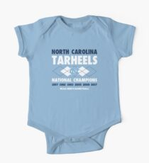 NCAA National Champions UNC Blue Kids Clothes