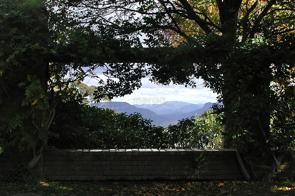 View from Everglades, Leura by margo