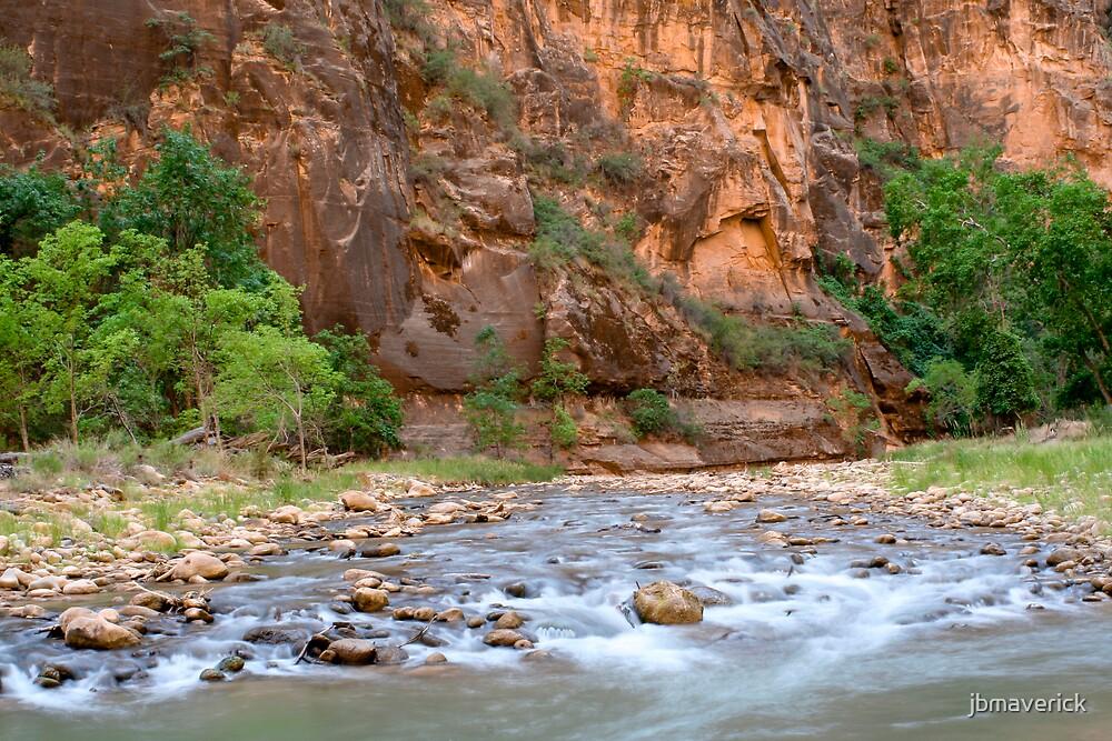 River in Zion by jbmaverick