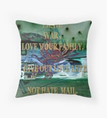 LOVE OTHERS Throw Pillow