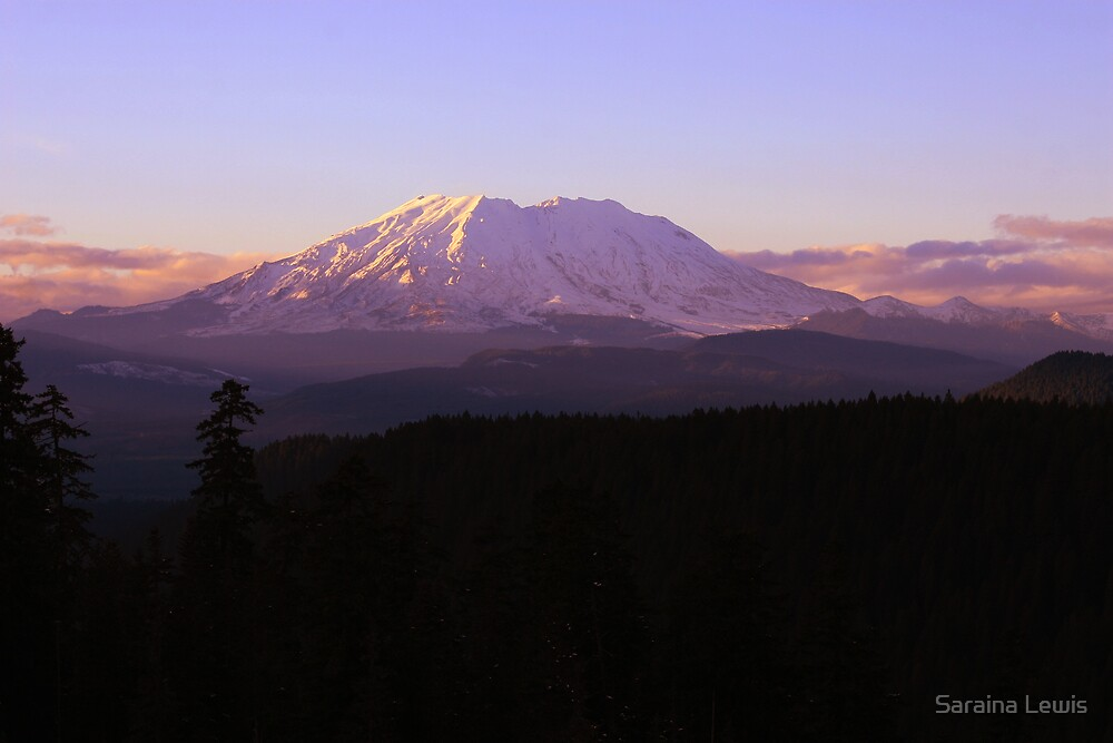 Mt St Helens by Saraina Williams