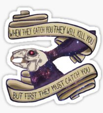 Rabbit death Sticker