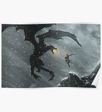 Skyrim - Dragonslayer Poster
