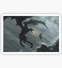 Skyrim - Dragonslayer Sticker