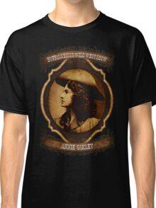 Annie Oakley Buffalo Bill's Wild West Show Sharpshooter Classic T-Shirt