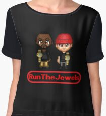 RTJ Pixelated Champs Chiffon Top