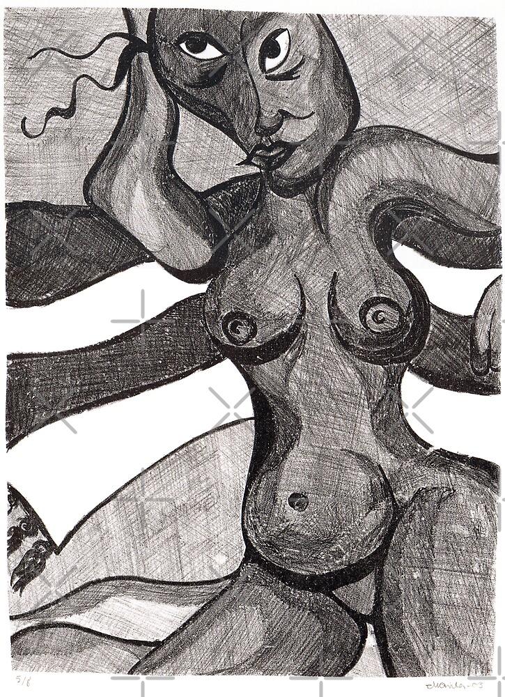 Venus Lithograph by Marita