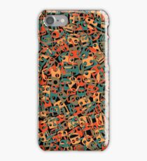 Chained faces 2 iPhone Case/Skin