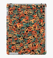 Chained faces 2 iPad Case/Skin