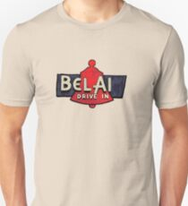 Route 66 Bel Air Sign V2 Unisex T-Shirt