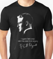 F. Scott Fitzgerald Design Unisex T-Shirt