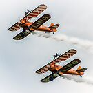 Breitling Wing Walker duo by Dean Messenger