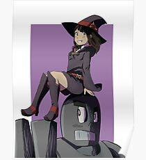 Little Witch and a RoboMan Poster