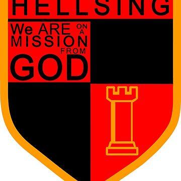 Hellsing Badge by cjb9296