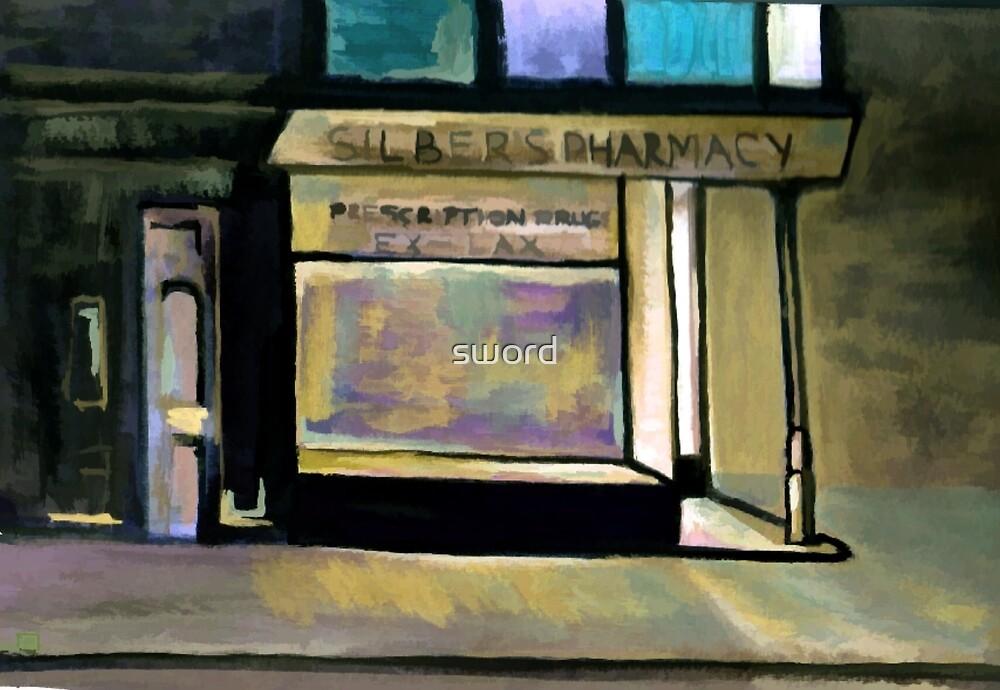 Silbers pharmacy by sword