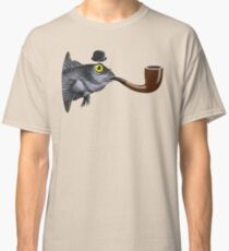 Magritte Fish Classic T-Shirt