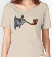 Magritte Fish Women's Relaxed Fit T-Shirt