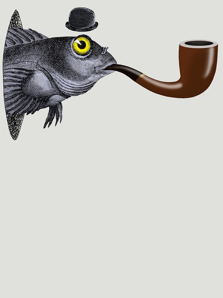 Magritte Fish by SusanSanford