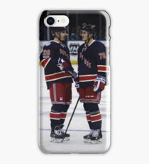 Chris Kreider and Brady Skjei iPhone Case/Skin