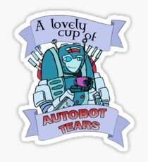 Autobot Tears - Nickel Sticker