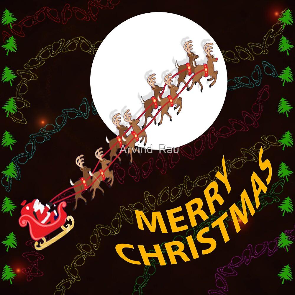 Merry Christmas by Arvind  Rau