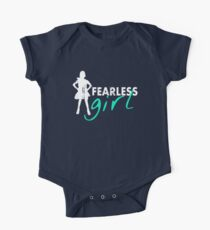 Fearless Girl - Vintage One Piece - Short Sleeve