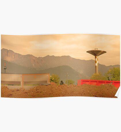 Paesaggio Industriale Poster