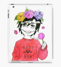 """Rude Boy"" - JTK piece  iPad Case/Skin"