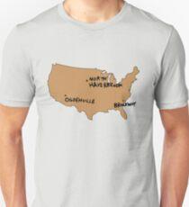 Ogdenville, North Haverbrook and Brockway T-Shirt