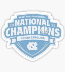 North Carolina Basketball National Champs Sticker