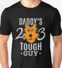 Daddy's Tough Guy - Tiger - Kid's Sports Football Baseball Backetball 2 T-Shirt