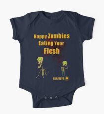 Happy Zombies One Piece - Short Sleeve