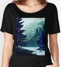 Canadian Mountain Women's Relaxed Fit T-Shirt