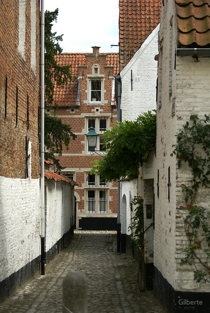 Lier - Beguinage Street by Gilberte