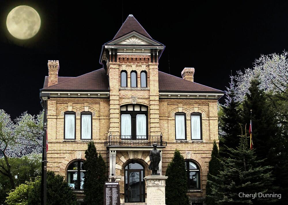 dark building by Cheryl Dunning